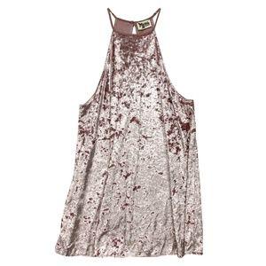 Show Me Your Mumu Mini Cocktail Party Dress Velvet
